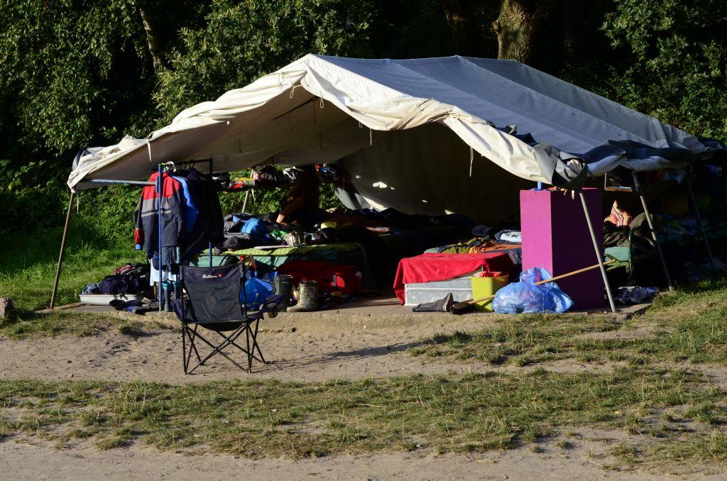 Kinderlager-Zelt